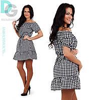 Платье женское Клетка  № 241.1 (Гл)