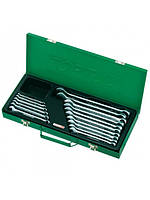 Набор ключей комбинированных Toptul 16 ед. 6-24 мм (metal box) GAAD1602