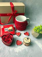 Подарочный набор девушке,маме,жене,сестре,подруге Красная Роза