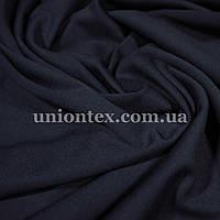 Трикотаж джерси темно-синий, фото 1