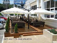 Зонт Дабл Эксель, садовый зонт, зонт для кафе, зонт для бассейна, уличный зонт, зонт для ресторана