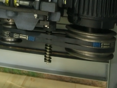 Ременная передача фрезерного станка FDB Maschinen MX 5117