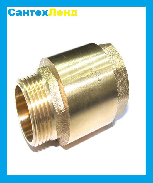 Обратный Клапан Латунный усиленный Icma  1 нв DN 25 PN 40