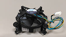 Вентилятор, кулер, система охлаждения CPU Intel Original, 4-pin, LGA 775, медная вставка, фото 3