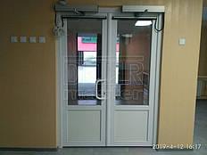 Автоматические распашные двери Tormax, Школа №6 12.04.2019 (г. Желтые Воды) 2