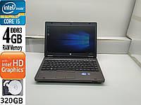 Б\У ноутбук HP probook 6360b i5\4gb\320gb