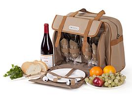 Набор для пикника КЕМПИНГ СА-576 (посуда на 4 персоны + сумка с термо-отсеком)
