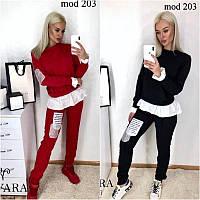 Костюм с обманкой мод 203, фото 1