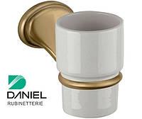 Стакан для зубных щёток бронза DANIEL REPB940 63