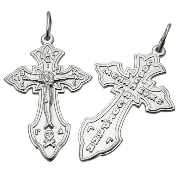 Серебряный крестик 1002кр