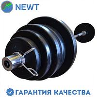 Штанга олимпийская композитная в пластиковой оболочке Newt Rock Pro гриф 1,8 м , 62 кг