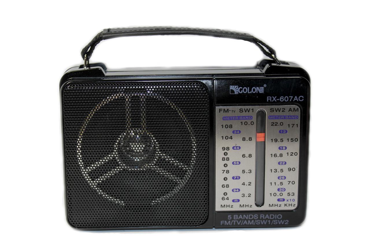 Портативный радиоприемник Golon RX-607