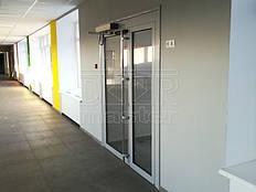 Автоматические распашные двери Tormax, Опорная школа 11.04.2019 (пгт. Магдалиновка) 1