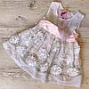 Детское летнее платье хлопок р.104 Элиза
