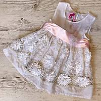 Детское летнее платье хлопок р.104 Элиза, фото 1