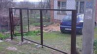 Ворота из сетки-рабица, фото 1