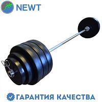 Штанга олимпийская композитная в пластиковой оболочке Newt Rock Pro гриф 2,2 м, 95 кг