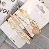 Шпильки для волосся, набір 4 штуки, модні прикраси і аксесуари для волосся, фото 5