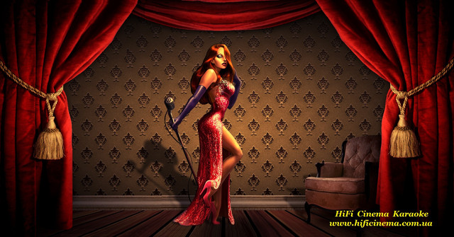 HiFi Cinema Karaoke Lady in Red караоке системы