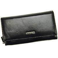 Женский кожаный кошелек LORENTI 76111-NIC Black, фото 1