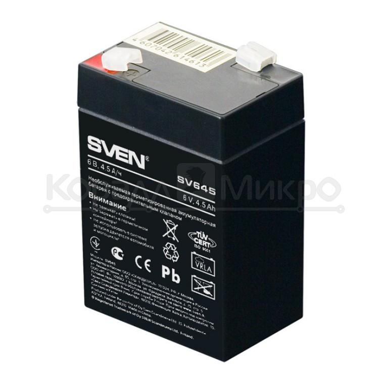 Аккумулятор Sven SV645 (SW 6V 4.5Ah)