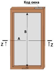 Замер рулонной шторы для мансардных окон