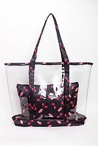 Шоппинг сумка Наоми черная