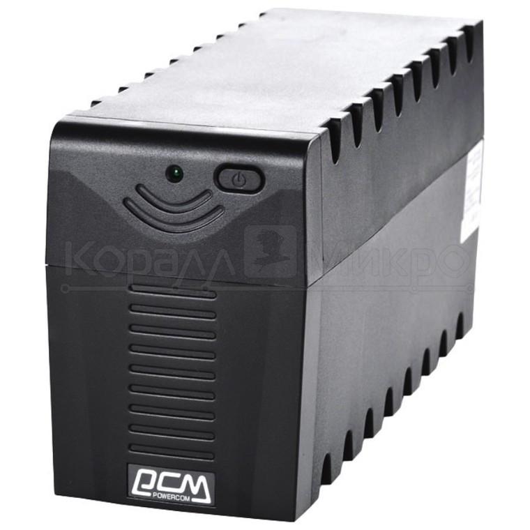 ИБП PowerCom RPT-800A 480W 3*IEC320 черный