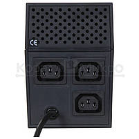 ИБП PowerCom RPT-800A 480W 3*IEC320 черный, фото 3
