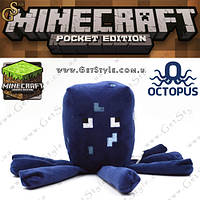 """Игрушка Осьминог из Minecraft - """"Squid"""" - 18 х 7 см."""