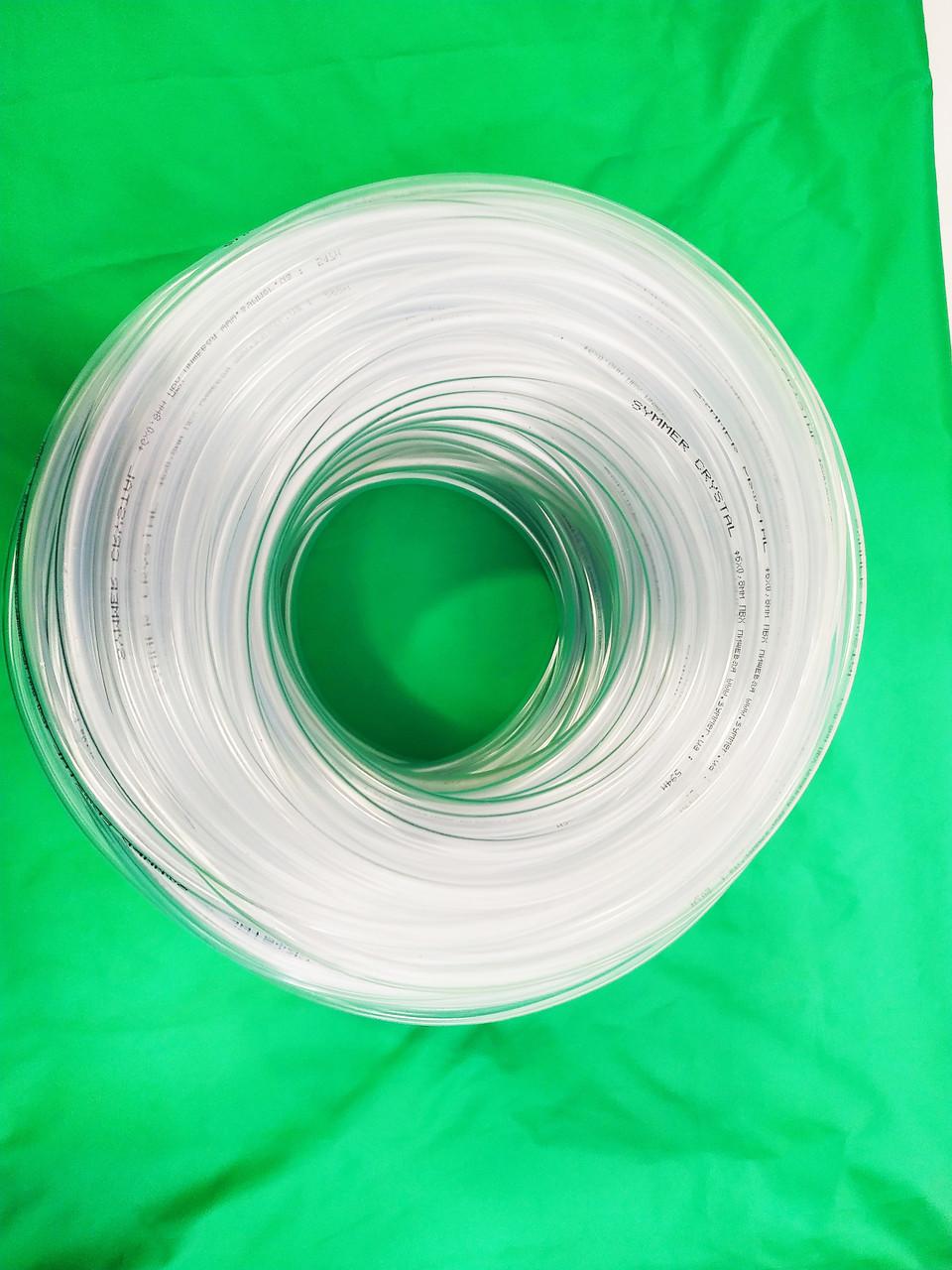 Шланг ПВХ Symmer Ø 14мм. высокого давления прозрачный пищевой (универсальный) 50м.