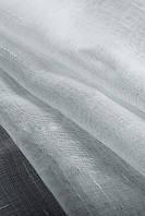 Тюль под  лен однотонный  белый  Китай,  высота 2.8 м, фото 1