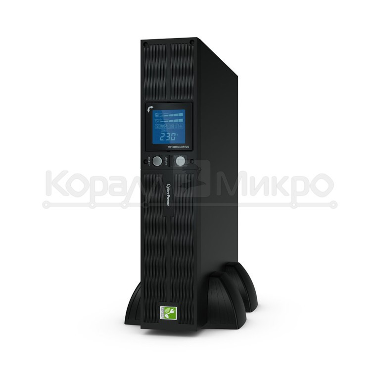 ИБП CyberPower PR1000ELCDRT2UA (1000VA/900W/RJ11/45/8 IEC-320 С13)