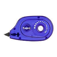 Стрічка корегуюча Axent з пензликом 5мм*6м синя (7009-02-a)
