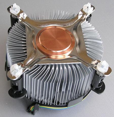 Вентилятор, кулер, система охлаждения CPU Intel Original, 4-pin, LGA 775, медная вставка