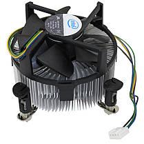 Вентилятор, кулер, система охлаждения CPU Intel Original, 4-pin, LGA 775, медная вставка , фото 2