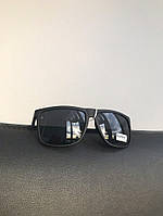 Очки черные матовые с широкой линзой №1, фото 1
