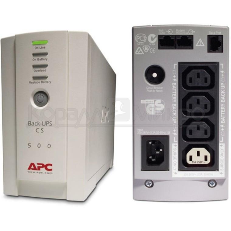 ИБП APC Back-UPS BK500EI USB