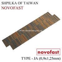 Столярные шпильки Тип-JA Novofast для пневмопистолета