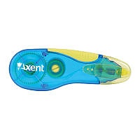 Стрічка корегуюча Axent з пензликом 5мм*5м синій помаранчевий (7006-01-a)