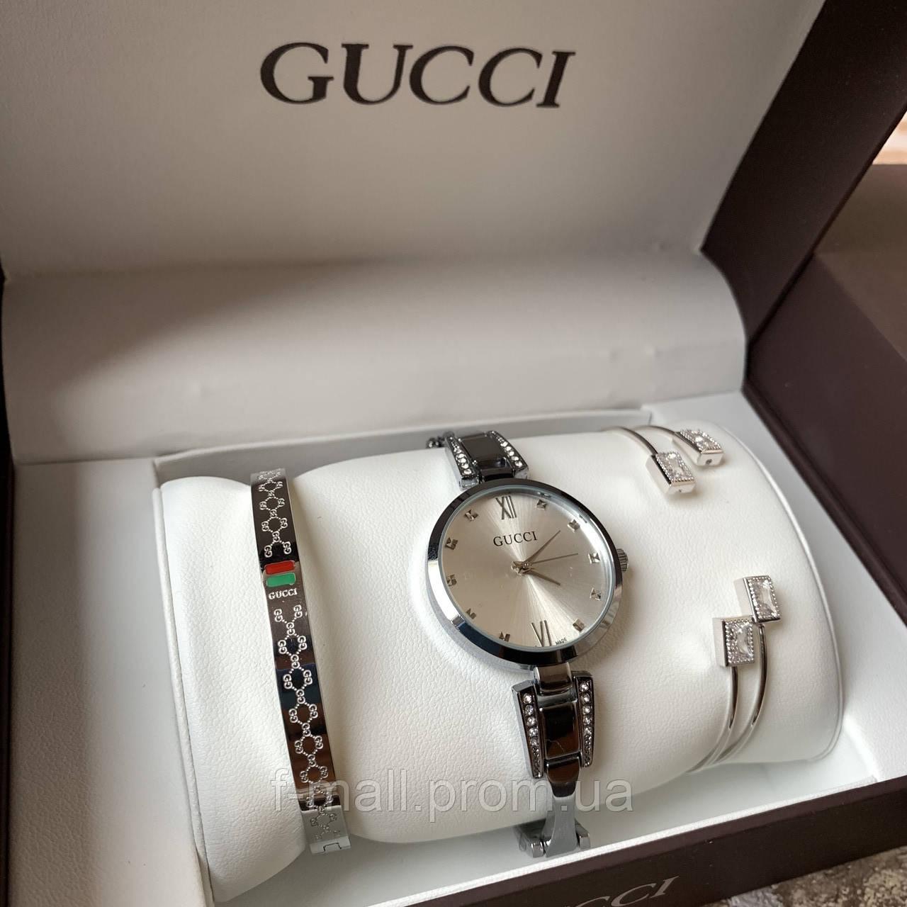 Часы Gucci с браслетами в Красном Луче
