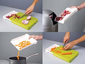 Кухонная доска Cut Collect разделочная доска с выдвижным контейнером, фото 2