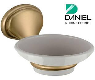 Мыльница настенная для ванной бронза DANIEL REPS950 63