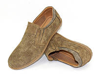 Летние мужские туфли-мокасины от производителя