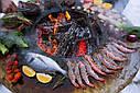Круглый гриль мангал AHOS BOX BLACK, фото 7