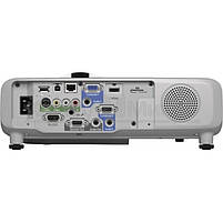 Проектор короткофокусный мультимедийный EPSON EB-525W, фото 4