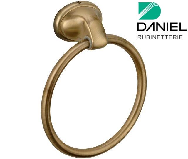 Держатель для полотенец кольцо бронза DANIEL REPA970 63