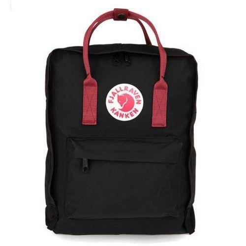 Рюкзак сумка Fjallraven Kanken (чёрный цвет) мужской женский