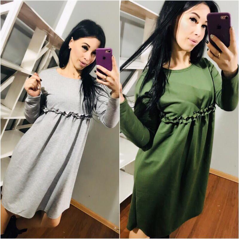 Платье свободное мод.276