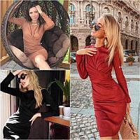 Платье замш мод.228, фото 1